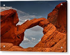 Natural Arch - Valley Of Fire - Nevada Acrylic Print by Christine Till