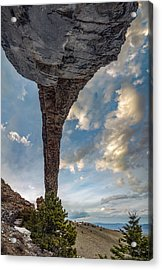 Acrylic Print featuring the photograph Natural Arch 2 by Leland D Howard