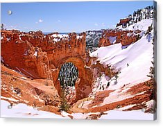 Natural Bridge. Bryce Canyon Acrylic Print