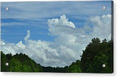 Natural Clouds Acrylic Print