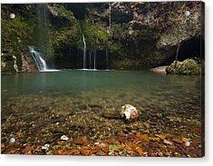 Natural Falls Acrylic Print