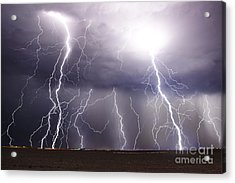 Natural Fury Acrylic Print