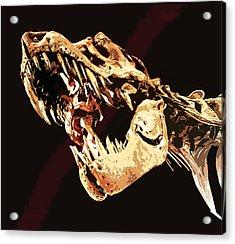 Natural History- T Rex Acrylic Print