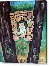 Natural Home Acrylic Print