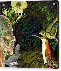 Natural Man Acrylic Print by Joseph Mosley