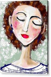 Natural Redhead Acrylic Print