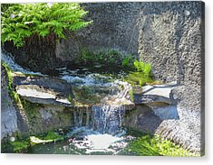 Acrylic Print featuring the photograph Natural Spa Zone by Raphael Lopez