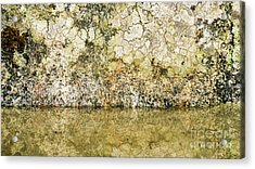 Acrylic Print featuring the photograph Natural Stone Background by Torbjorn Swenelius