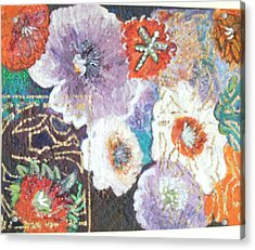 Naturally Rich Acrylic Print by Anne-Elizabeth Whiteway
