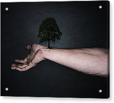 Nature Inside Me Acrylic Print by Nicklas Gustafsson