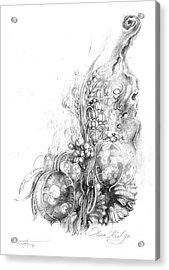 Nature Inspiration Acrylic Print by Olena Kulyk