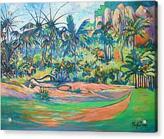 Nature Isle Acrylic Print