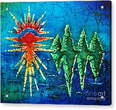 Nature Acrylic Print by Sue Duda