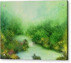 Nature Symphony Acrylic Print by Hannibal Mane