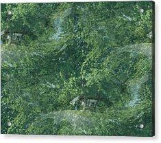 Nature Trees Fractal Acrylic Print