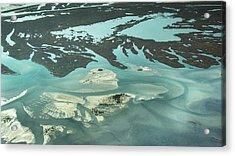 Natures Art On Barnegat Bay Acrylic Print