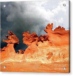 Nature's Artistry Nevada Acrylic Print by Bob Christopher