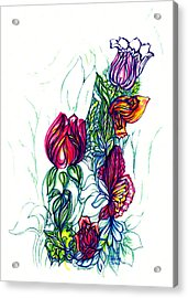 Natures Beauty Acrylic Print by Judith Herbert