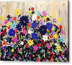 Natures Bouquet  Acrylic Print