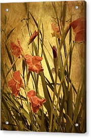 Nature's Chaos In Spring Acrylic Print