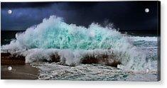 Nature's Fury Acrylic Print by Russ Harris