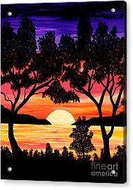 Nature's Gift - Ocean Sunset Acrylic Print