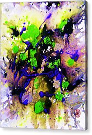 Acrylic Print featuring the painting Natures Influence Spring by Roberto Prusso