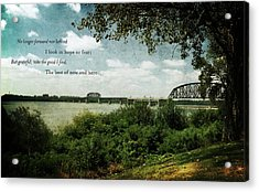 Natures Poetry Acrylic Print