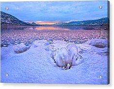 Acrylic Print featuring the photograph Nature's Sculpture by John Poon