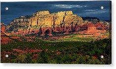 Nature's Spotlight, Sedona, Arizona Acrylic Print
