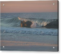 Acrylic Print featuring the photograph Natures Wave by  Newwwman