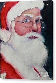 Naughty Or Nice ? Santa 2016 Acrylic Print