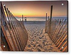 Nauset Beach Entrance 2 Acrylic Print