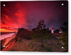 Nauset Lighthouse Sunrise Acrylic Print