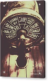 Nautical Engine Room Telegraph Acrylic Print