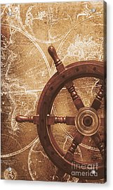 Nautical Exploration  Acrylic Print by Jorgo Photography - Wall Art Gallery