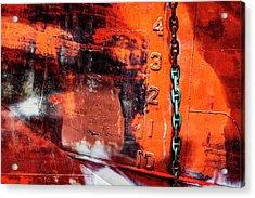 Nautical Industrial Art Again Acrylic Print