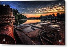 Nautical Sunrise Acrylic Print by Everet Regal