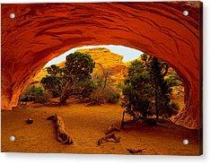 Navajo Arch Acrylic Print