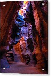Navajo Curtains Acrylic Print