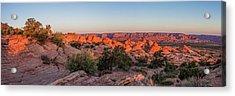 Navajo Land Morning Splendor Acrylic Print