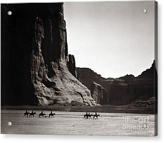 Navajos Canyon De Chelly, 1904 - To License For Professional Use Visit Granger.com Acrylic Print