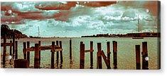 Naval Academy Sailing School Acrylic Print