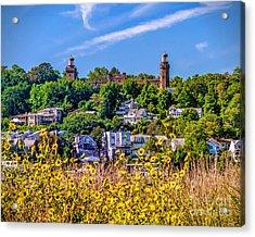 Navesink Light On The Hill Acrylic Print