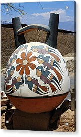 Nazca Ceramics Peru Acrylic Print by Aidan Moran