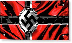 Nazi Flag Color Added 2016 Acrylic Print