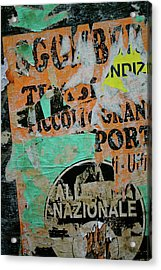 Nazionale Acrylic Print by Jason Wolters
