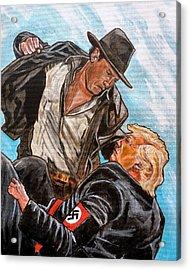 Nazis. I Hate Those Guys. Acrylic Print