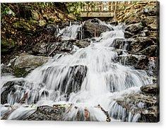 Nc Mountain Waterfall Acrylic Print