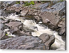 Near Barrow Falls Acrylic Print by Peter J Sucy